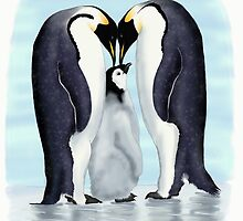 family of penguins by katilinova