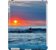 Sunset Surfing iPad Case/Skin