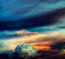 Sunset Cloudscape by Lynnette Peizer