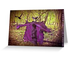 :::Maleficent::: Greeting Card