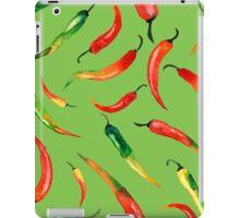 - Chilli pattern (green) - iPad Case/Skin