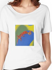 Red Fire Dragon Women's Relaxed Fit T-Shirt