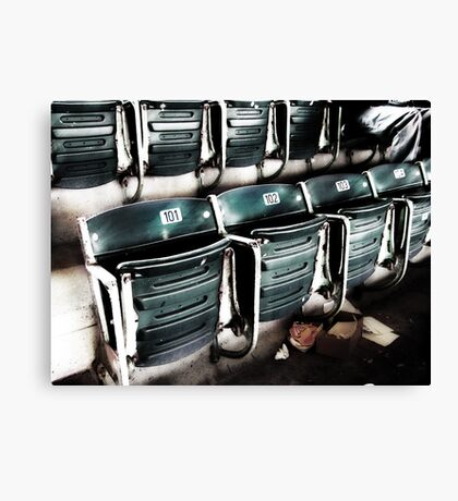 chicago cubs grandstand seats Canvas Print