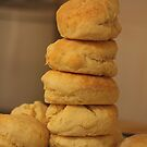 Leaning Tower of Scones by Carol James