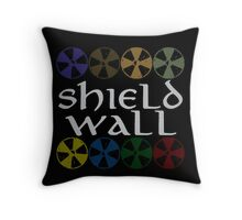 Shield Wall Throw Pillow
