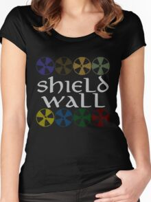 Shield Wall Women's Fitted Scoop T-Shirt