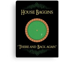 House Baggins Canvas Print