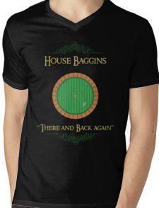 House Baggins Mens V-Neck T-Shirt