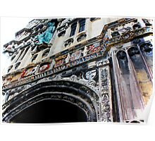 Entrance to Canterbury Cathedral....Kent UK Poster