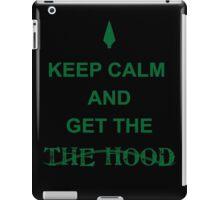 Get the hood iPad Case/Skin