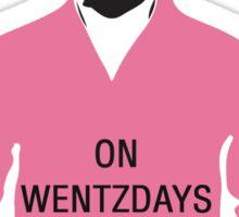 Wentzdays Sticker