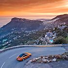 Porsche 911 Targa above Monaco by supersnapper