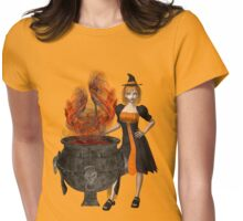 Halloween tee Womens Fitted T-Shirt