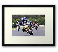 The Angry Pack Framed Print