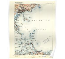 Massachusetts  USGS Historical Topo Map MA Boston Bay 352528 1903 62500 Poster
