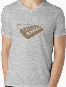 Super Stereo Sound: 808 Mens V-Neck T-Shirt