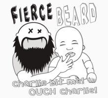 Charlie bit me! OUCH Charlie! by FierceBeard