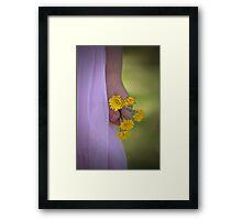 Flowers For Mum Framed Print