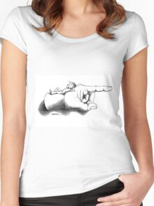 For Target Women's Fitted Scoop T-Shirt