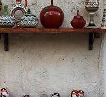 Turkish Folk Art: Pottery And Dolls by Josh Wentz