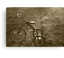 Antique Tricycle.... Canvas Print