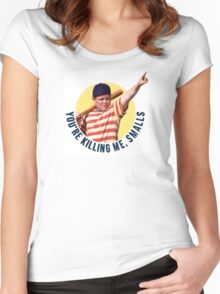 The Sandlot- You're Killing Me, Smalls Women's Fitted Scoop T-Shirt