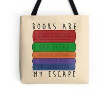 Books Are My Escape Tote Bag