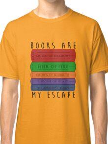 Books Are My Escape Classic T-Shirt