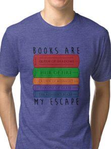 Books Are My Escape Tri-blend T-Shirt