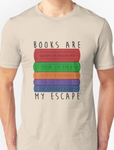 Books Are My Escape Unisex T-Shirt