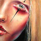 Pale Geisha by Sylvia Lizarraga