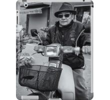 Cool looking old man iPad Case/Skin