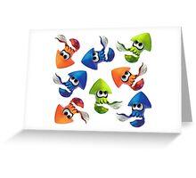 Splatoon! Just Squidding Greeting Card