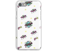 Aliens Pattern iPhone Case/Skin