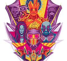 Guardians of the Galaxy by elepunkt
