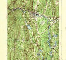 Massachusetts  USGS Historical Topo Map MA Orange 352023 1941 31680 by wetdryvac