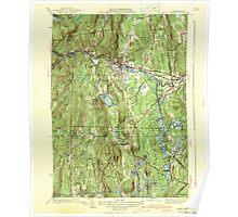 Massachusetts  USGS Historical Topo Map MA Orange 352023 1941 31680 Poster