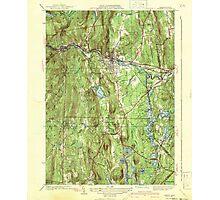Massachusetts  USGS Historical Topo Map MA Orange 352023 1941 31680 Photographic Print