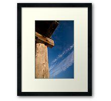 stark contrast  Framed Print