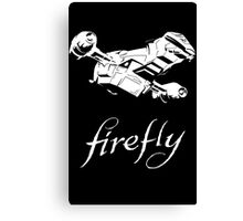 Firefly with logo and flying Serenity Canvas Print