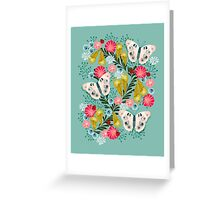 Buckeye Butterly Florals by Andrea Lauren  Greeting Card