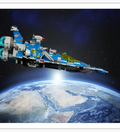 Benny's spaceship! Sticker