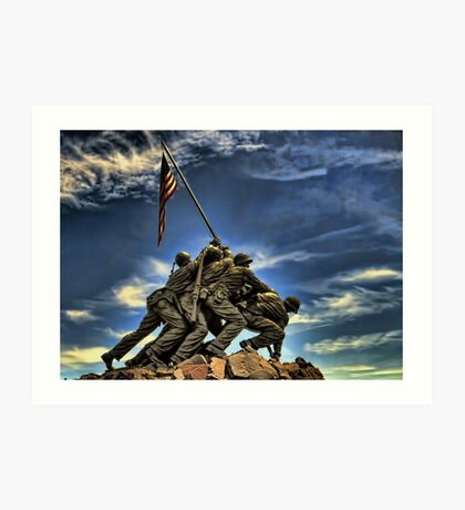 The Iwo Jima Memorial Art Print