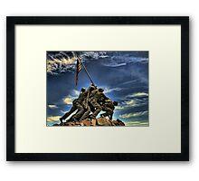 The Iwo Jima Memorial Framed Print