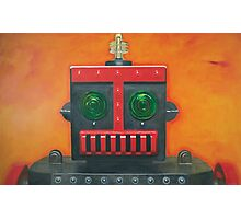 Robert The Robot Photographic Print