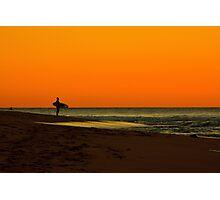 Lone Surfer Photographic Print