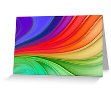 Rainbow Family Greeting Card