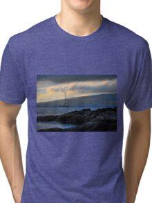 Sailing in the Dark Tri-blend T-Shirt