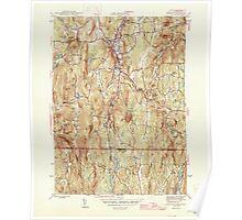 Massachusetts  USGS Historical Topo Map MA Monson 351909 1946 31680 Poster