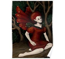 Fairy in Tree Poster
